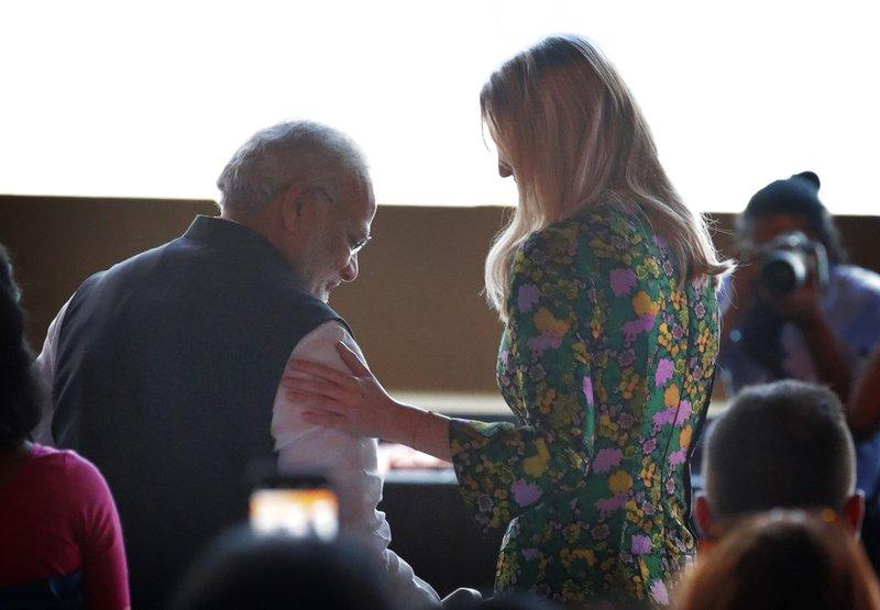 Narendra Modi, Ivanka Trump