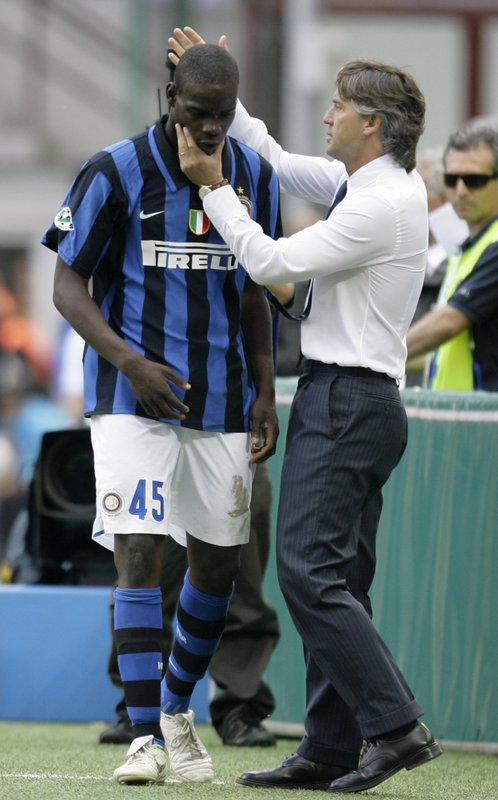 Mario Balotelli, Roberto Mancini