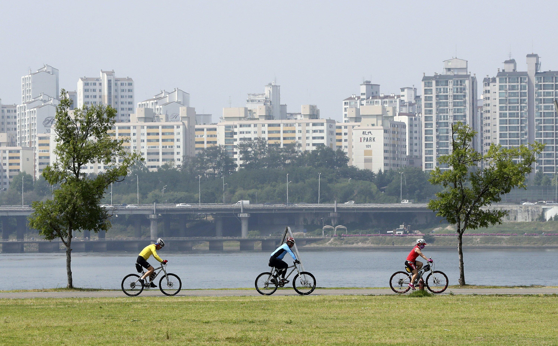 Surcorea construye la ciclovía más larga del mundo