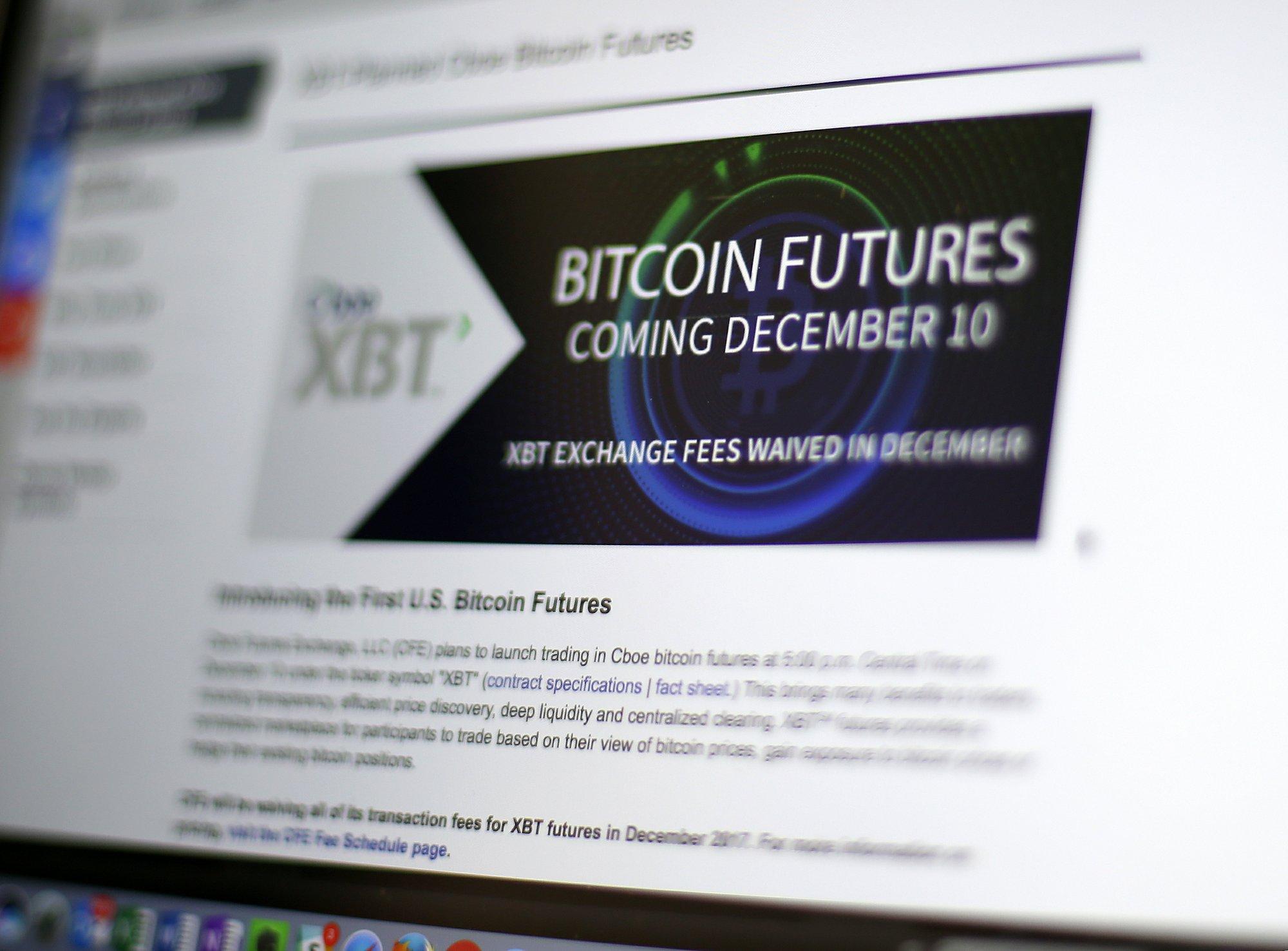 Bitcoin ateities sandoriai cme cboe, sakysim,...