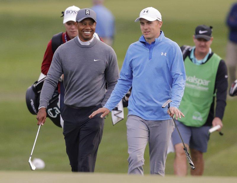 Tiger Woods, Jordan Spieth