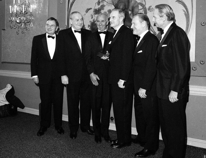 David Rockefeller, Nelson Rockefeller, Winthrop Rockefeller, John Rockefeller, Laurence Rocekefeller, Frank Pace