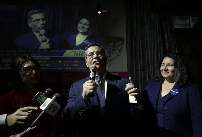 Xavier Becerra, Carolina Reyes