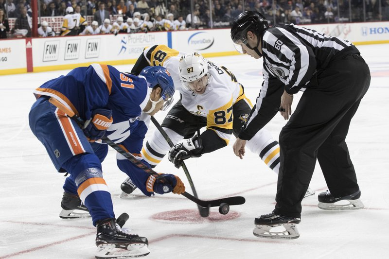 Star Laden Penguins Open Playoffs Against Stingy Islanders