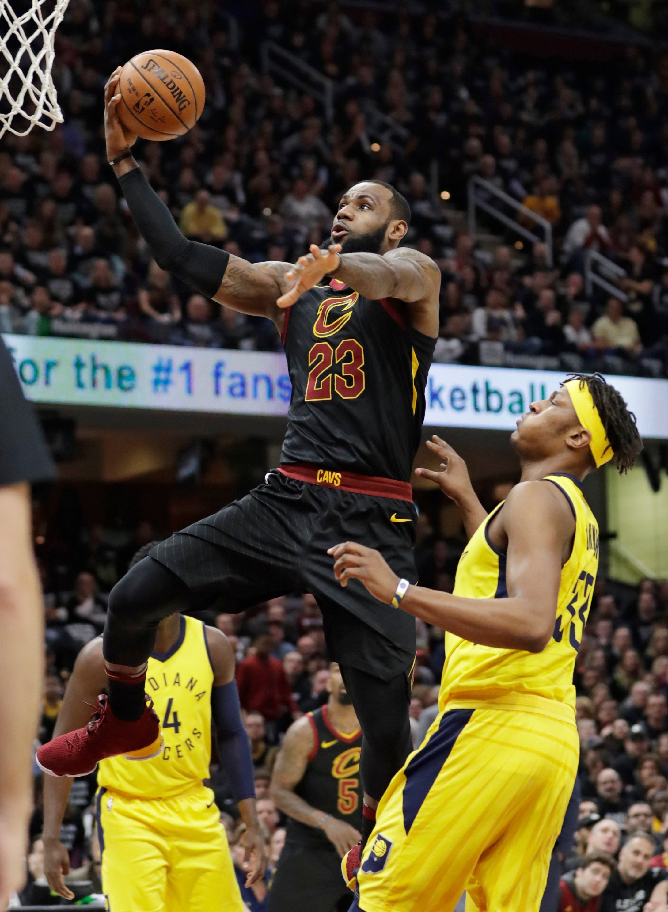 d604e20d4bce 7th heaven  LeBron carries Cavaliers past Pacers in Game 7