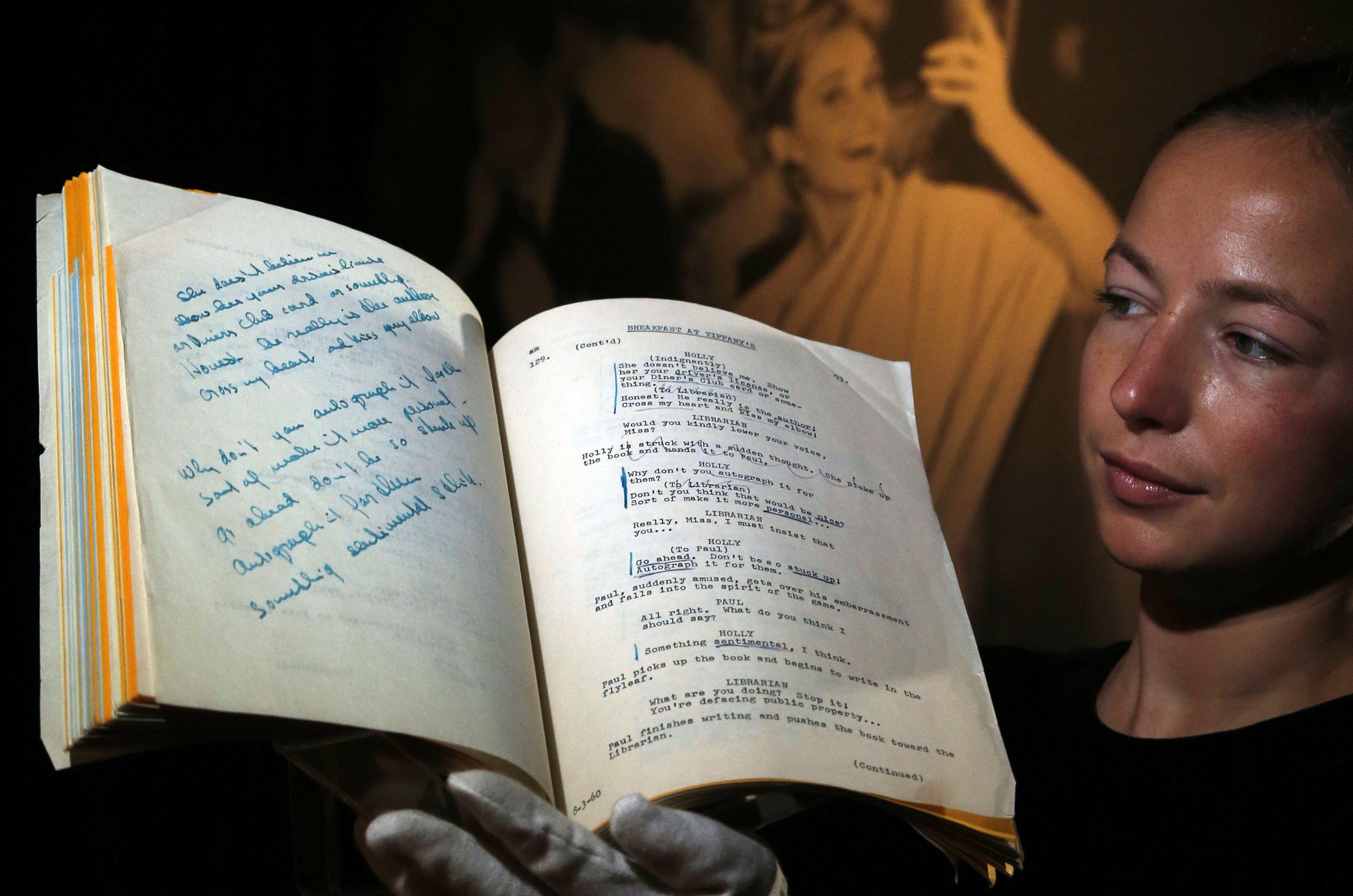 Audrey Hepburn mementoes fetch $6 2 million at auction