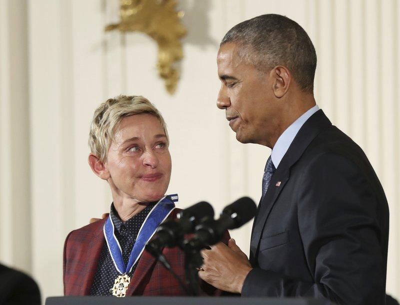 Barack Obama, Ellen DeGeneres