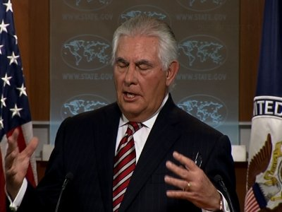 Tillerson on Pakistan Role and NKorea Restraint