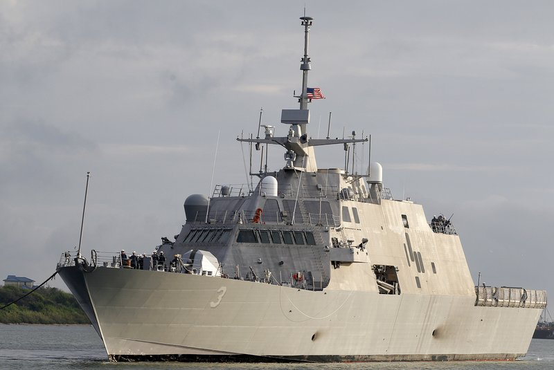 Navy warship to trade some speed for firepower, armor