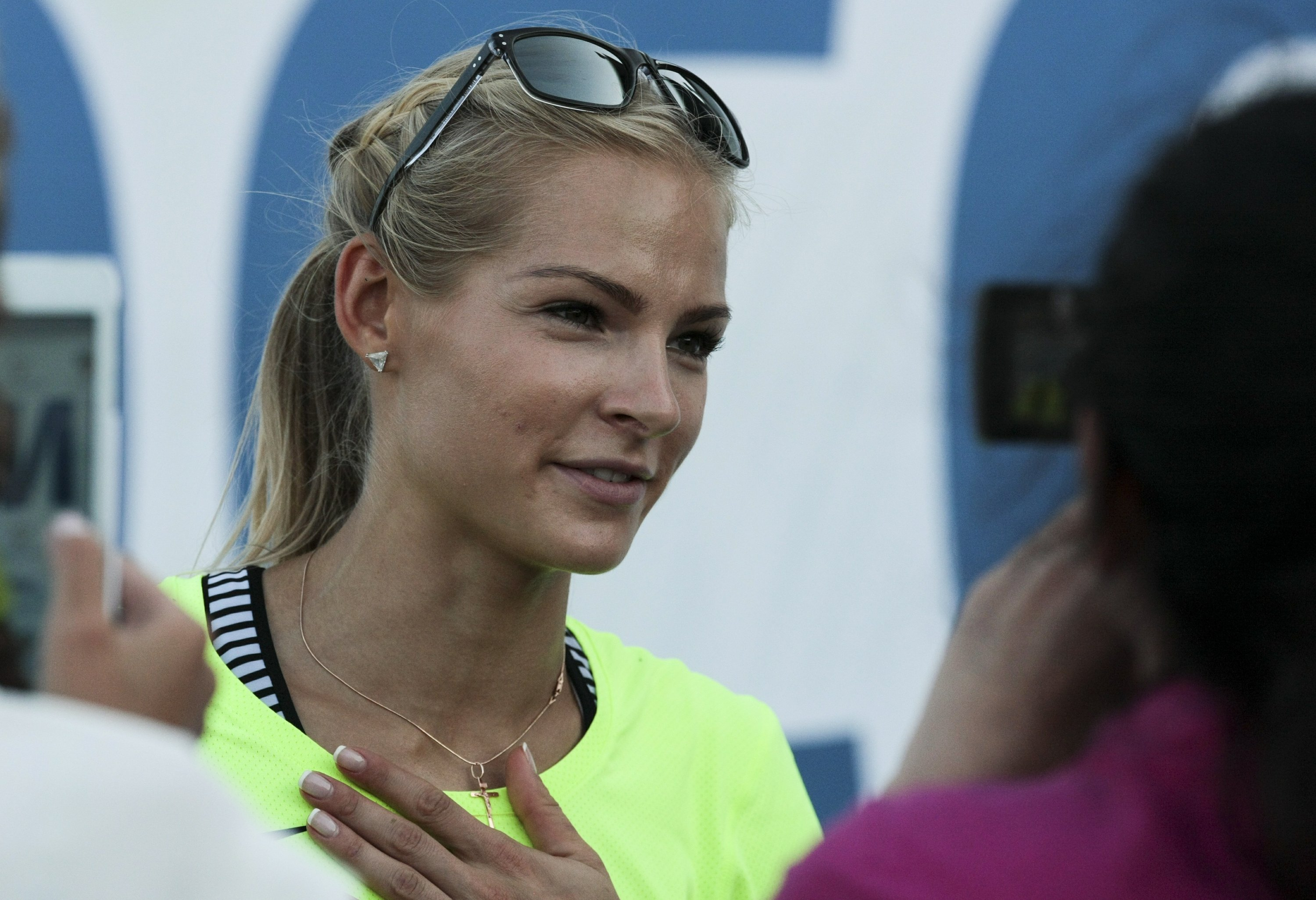 The Latest: Klishina wins appeal to compete in Rio