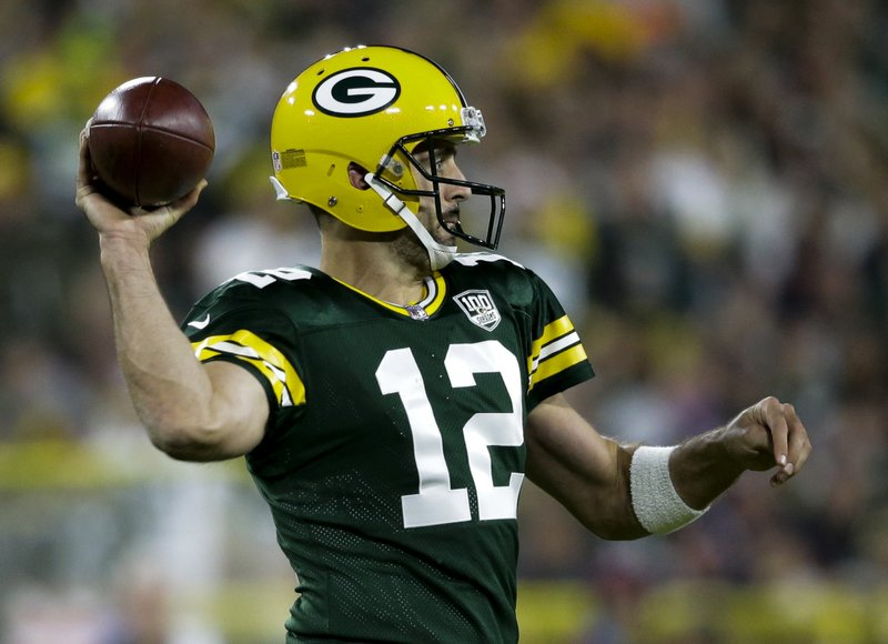 low priced 8d308 1754d The Latest  Aaron Rodgers returns, leads Packers comeback