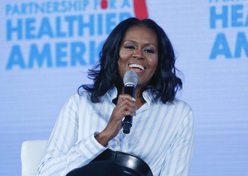 Michelle Obama,Sam Kass