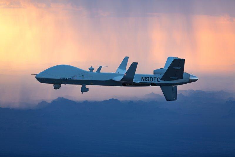 SkyGuardian Takes Off from North Dakota on Trans-Atlantic Flight