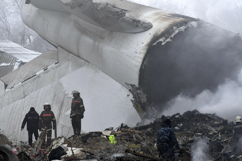 Kyrgyzstan: Cargo plane crash kills 37, destroys village