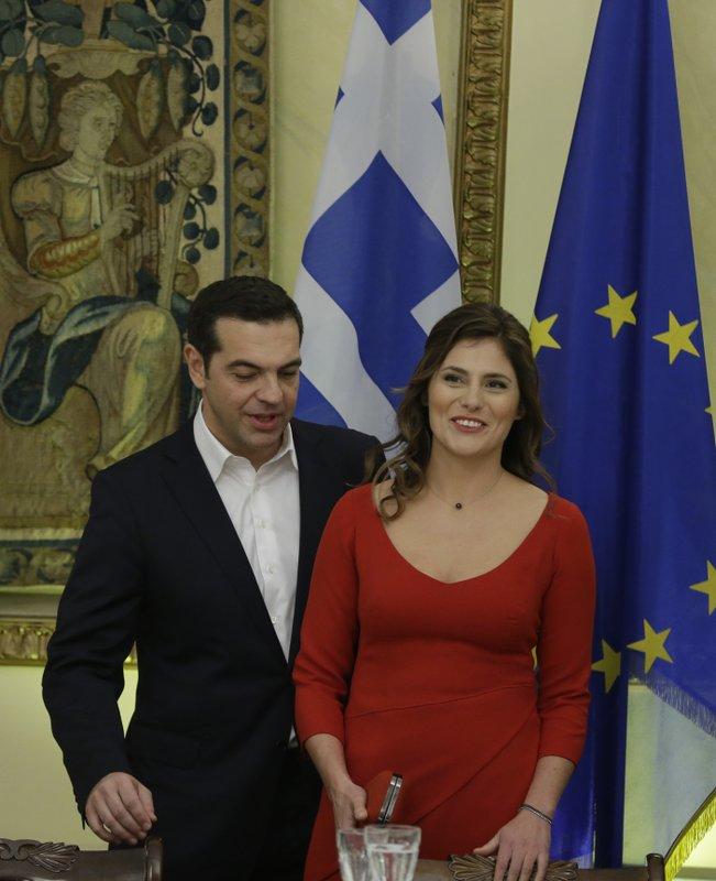 Alexis Tsipras, Betty Baziana