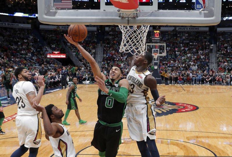 Davis leads Pelicans past Celtics 108-89