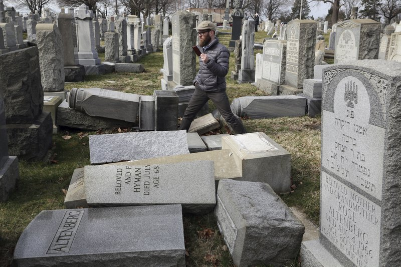 Anti-Semitic Incidents on the Rise in the U.S.