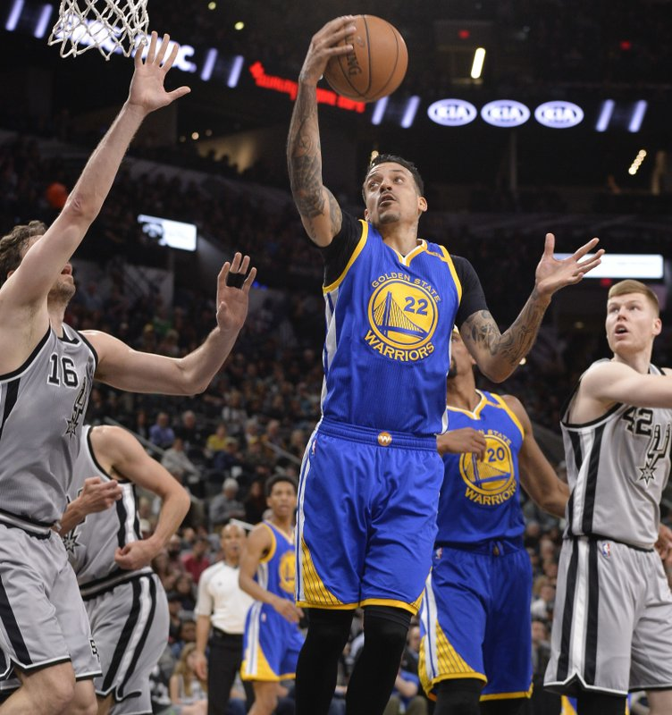 quality design 0675e ae924 Mills leads Spurs past Warriors in game minus top stars