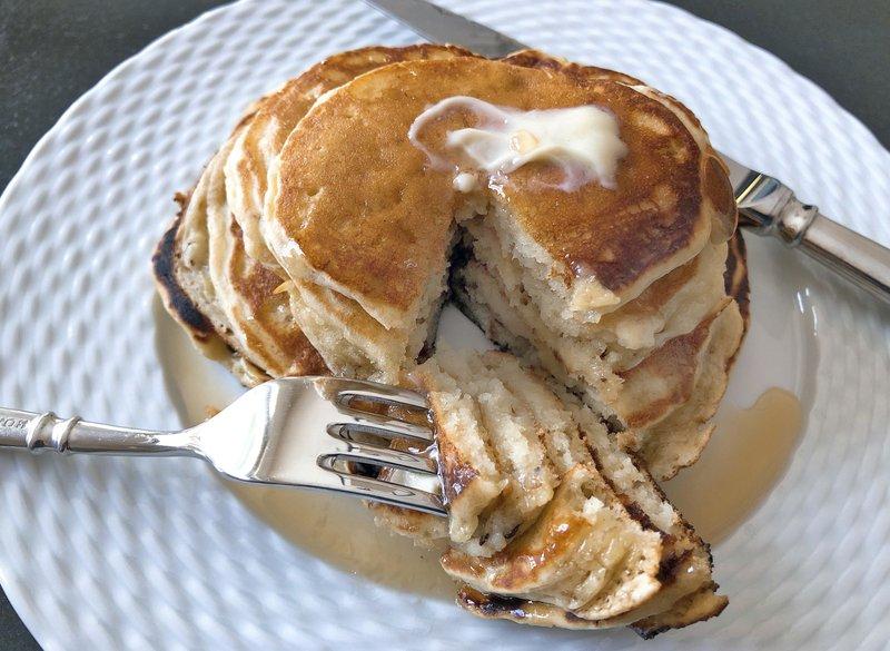Ripe Banana Pancakes
