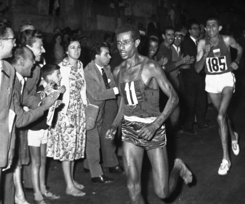 Lawsuit over use of barefoot marathoner