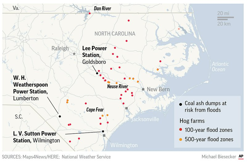 NC AFFECTED AREAS