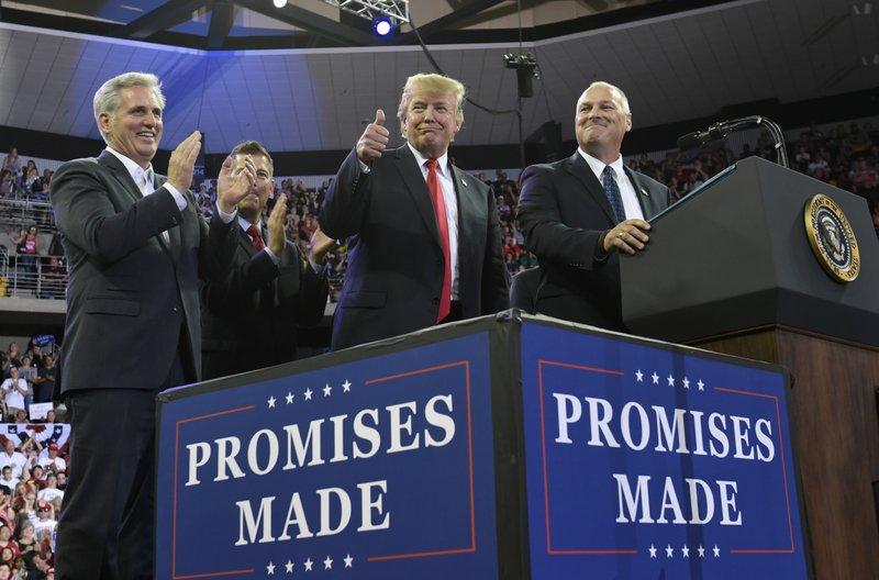 Donald Trump, Kevin McCarthy, Pete Stauber