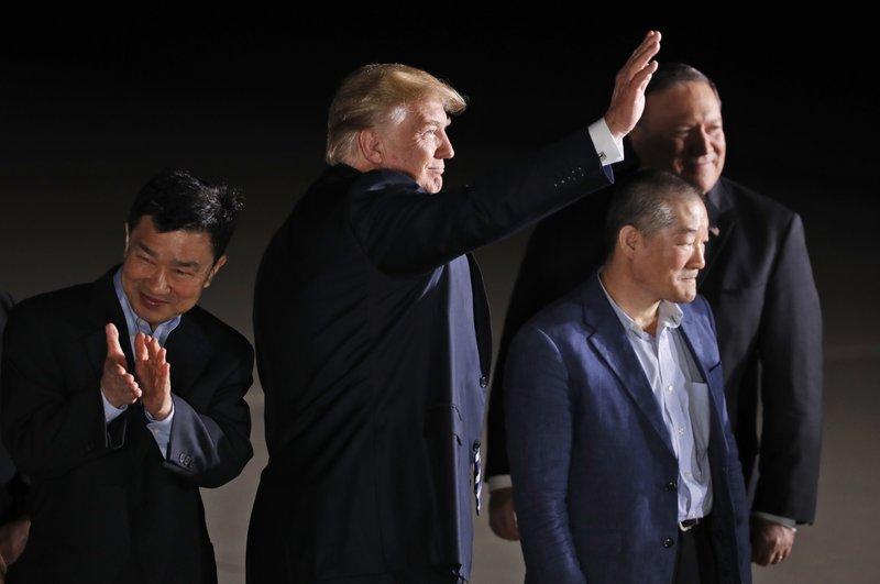Donald Trump, Kim Dong Chul, Tony Kim