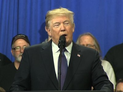 Trump Highlights Manufacturing in Ohio