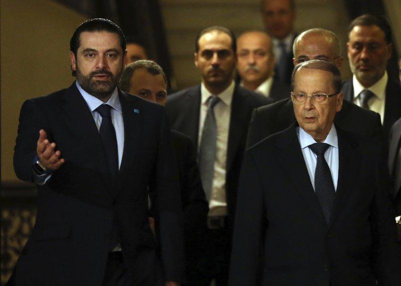 Saad Hariri, Michel Aoun