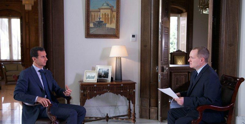 Bashar Assad, Ian Phillips