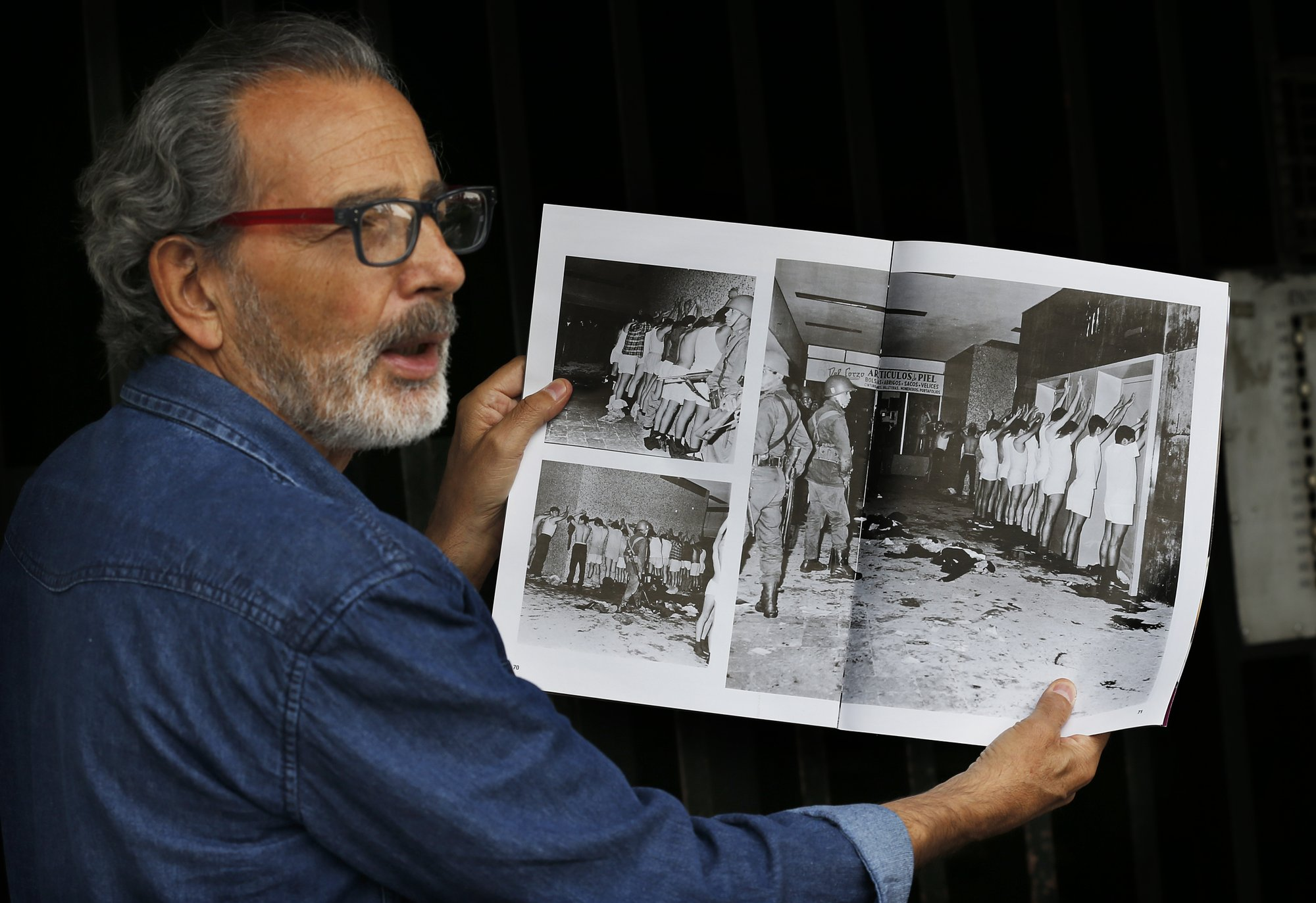 Mexican students massacred by army in 1968, by gangs today