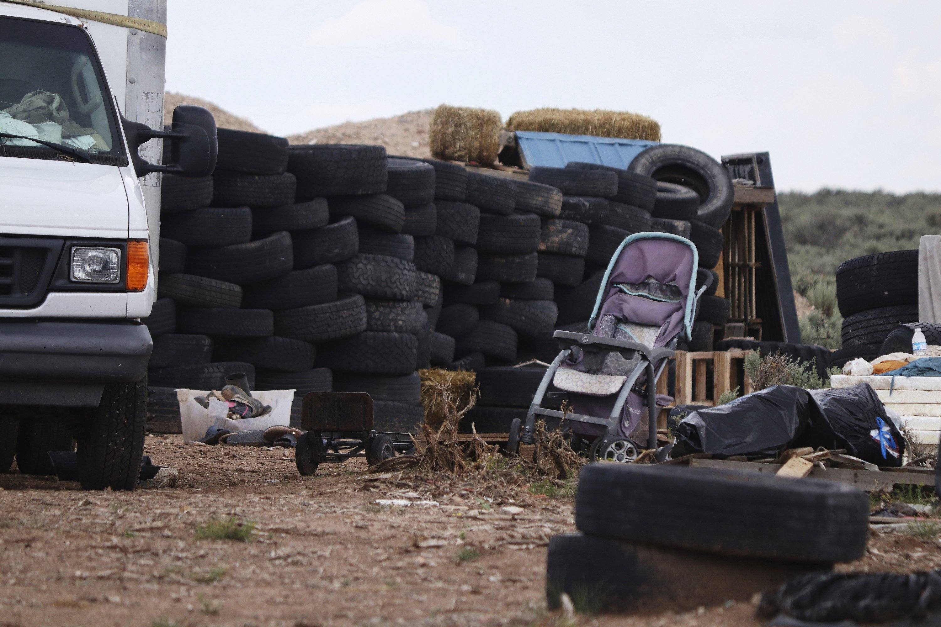 Boy's remains found at New Mexico desert compound