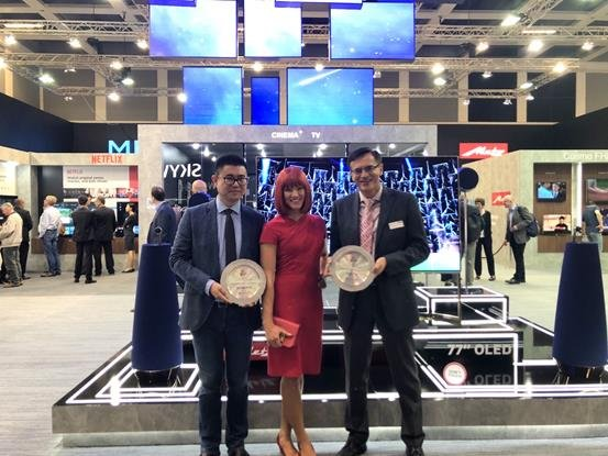 Winning IFA Product Technical Innovation Award-METZ blue as a new global brand manufactured by Metz in Germany launches AI TV series and strong landing in Europe, India and Hongkong.
