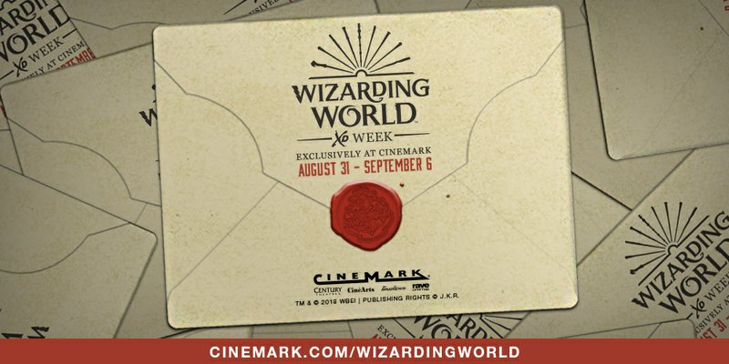 Cinemark Transports Fans into the Wizarding World through Exclusive Cinemark XD Movie Festival