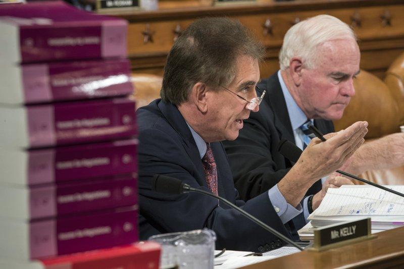 Trump administration officials meet GOP senators on tax bill
