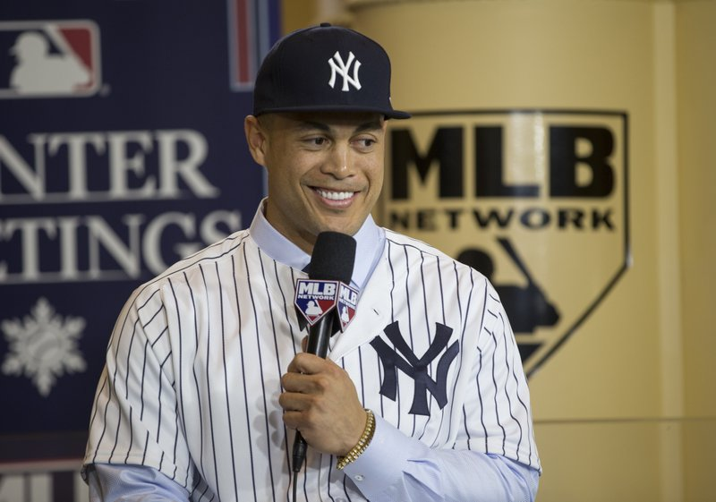 Yankees finalize deal for NL MVP and homerun champ Stanton (apnews.com)