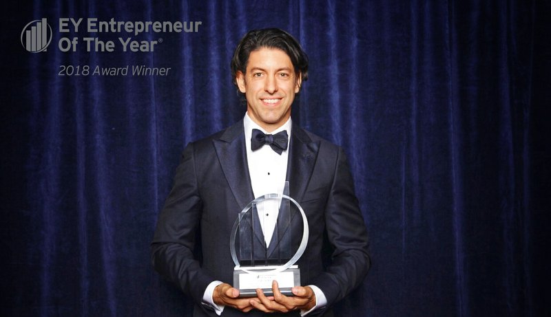 EY announces Patrick Walsh of Town Sports International Holding Inc., named Entrepreneur Of The Year® 2018 Award winner in New York