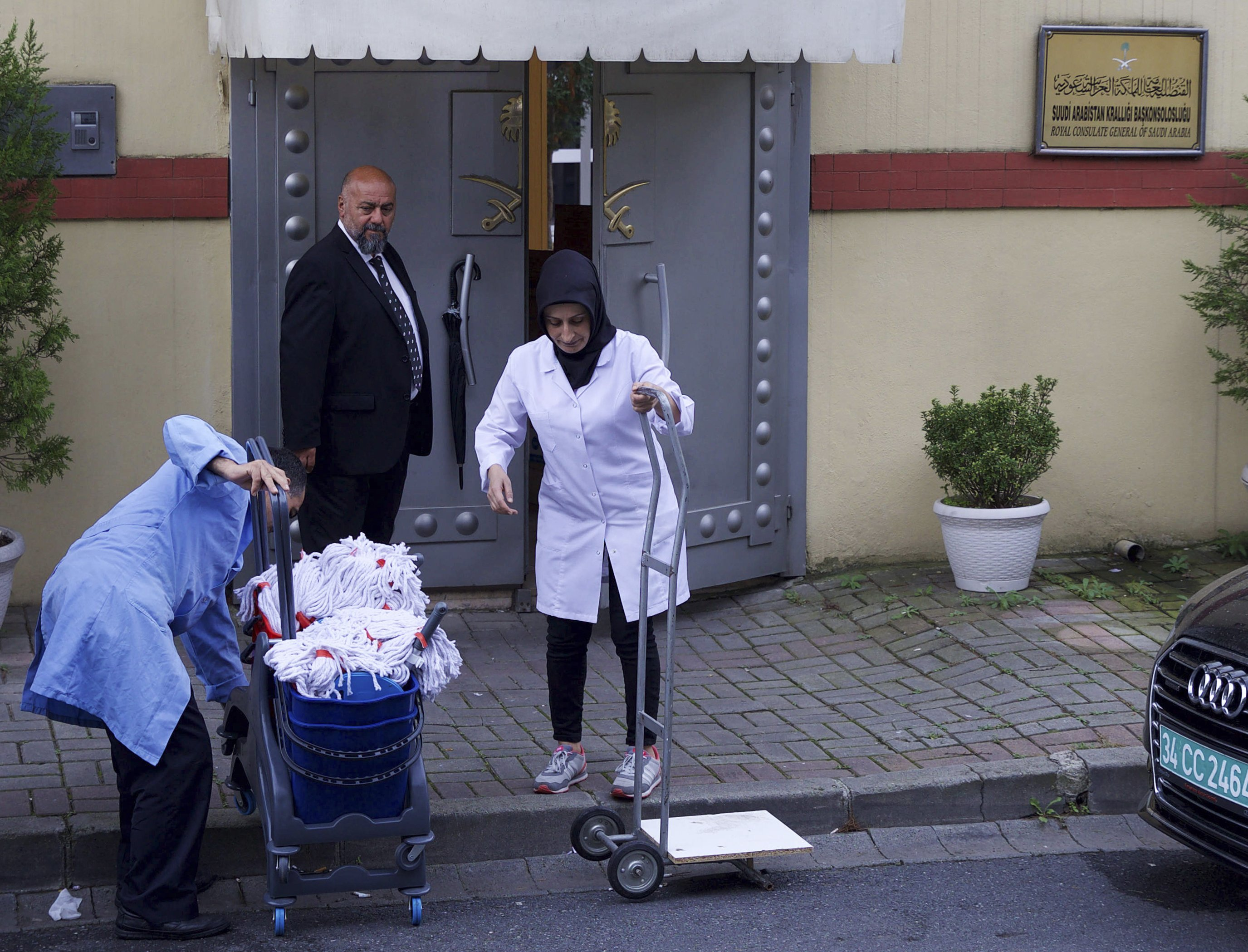 Image result for saudi embassy turkey clean up