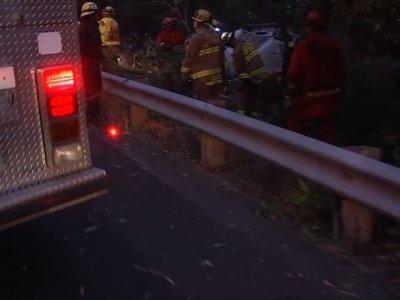 Calif. Firefighting Truck Driver Dies in Crash