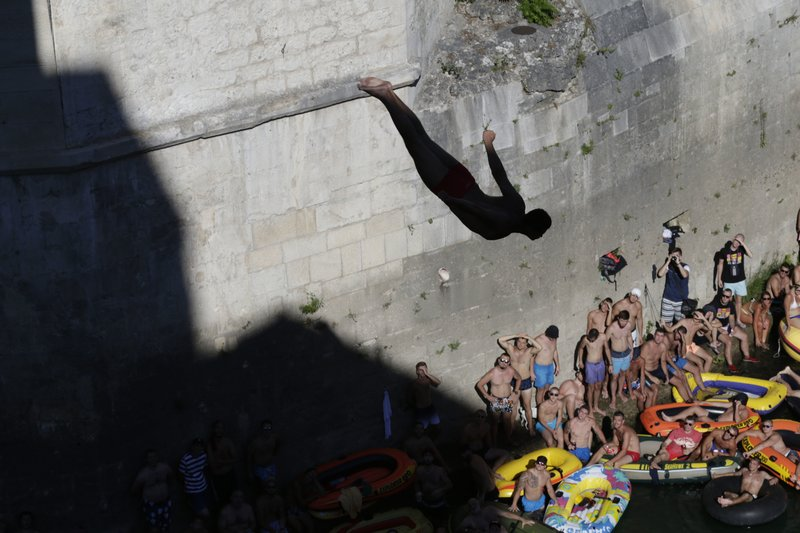 Bosnia high diving