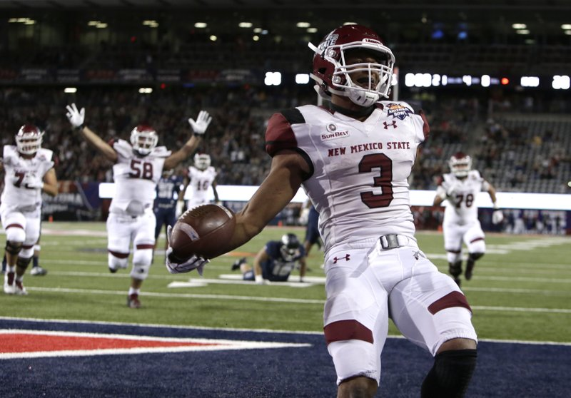 New Mexico State eyes 'fiesta' for 1st bowl win since 1960