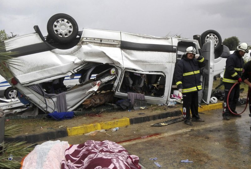 3 German tourists killed in traffic accident in Turkey