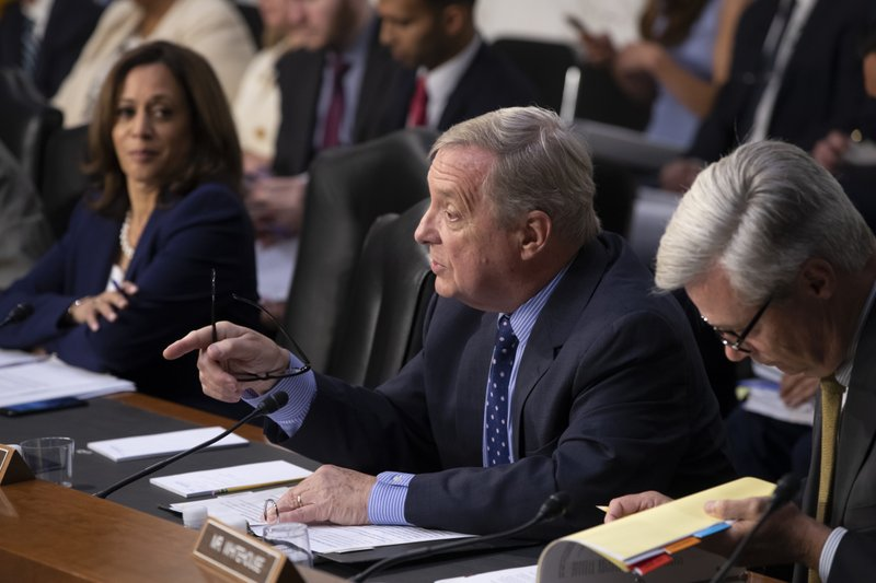 Dick Durbin, Kamala Harris, Sheldon Whitehouse