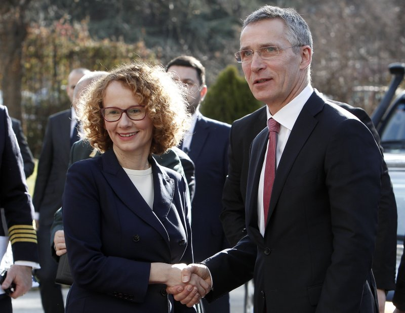 Jens Stoltenberg, Radmila Sekerinska Jankovska
