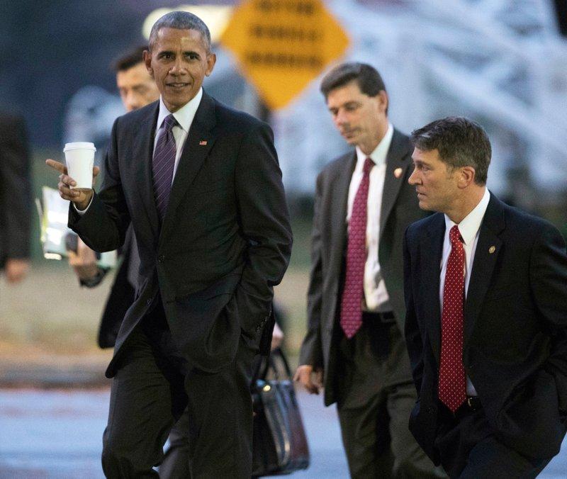 Barack Obama, Ronny Jackson