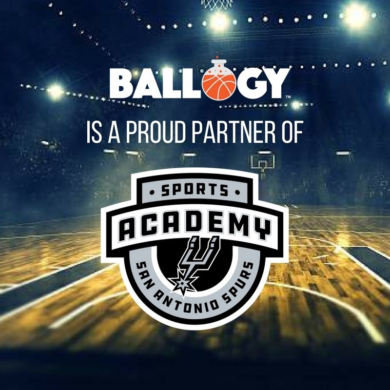 Ballogy Official Testing™ to Be Offered at Spurs Basketball Camps, Clinics and Nationals Tournaments