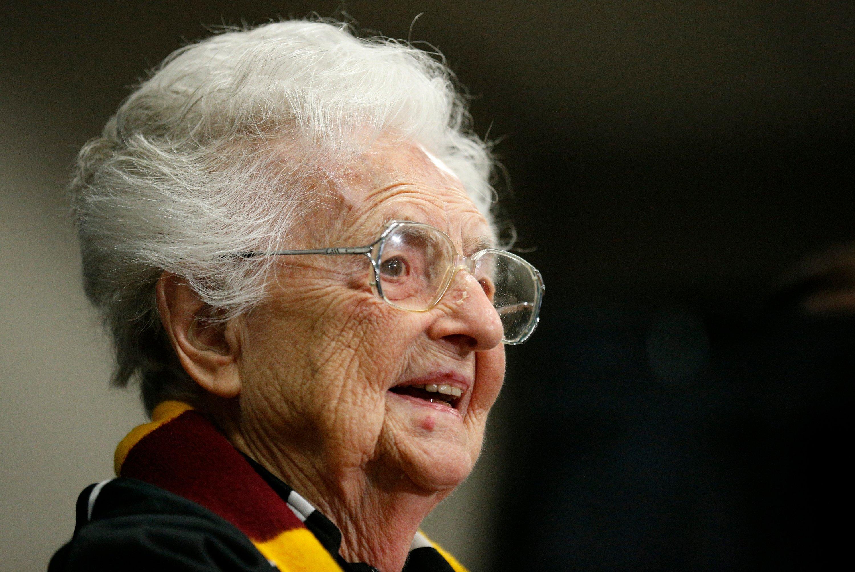 March magic still resonates for Loyola's Sister Jean