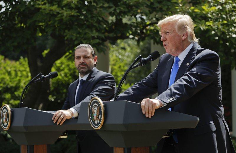 Donald Trump, Saad Hariri,