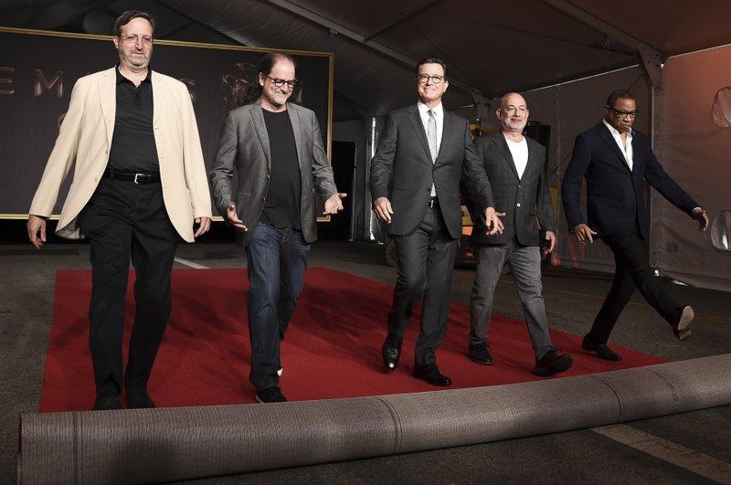Ricky Kirshner, Glenn Weiss, Stephen Colbert, Jack Sussman, Hayma Washington