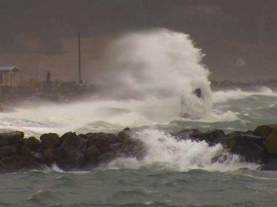 Raw: Dangerous Winds in Western Washington State
